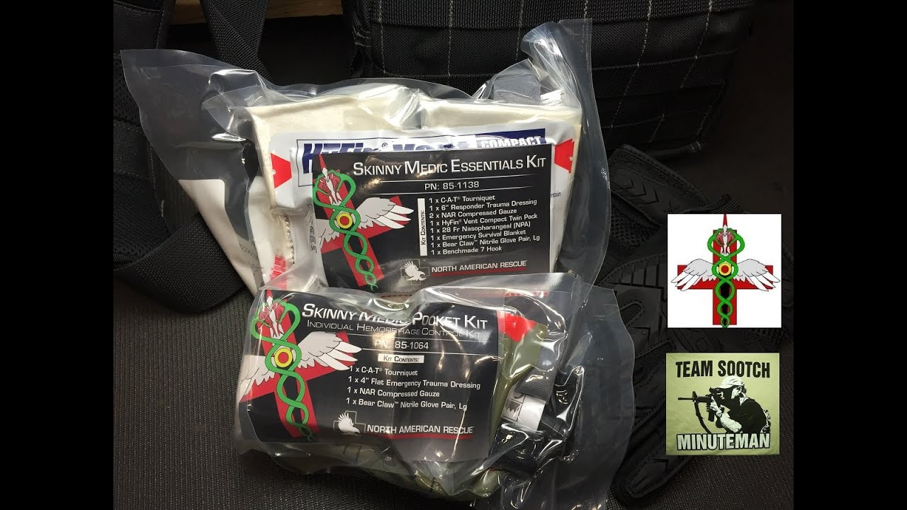 Pocket Trauma Kits by Skinny Medic - American Prepper Magazine